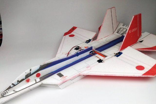 ワールドモデルスからEPP製3Dジェット機「心神」が発売!