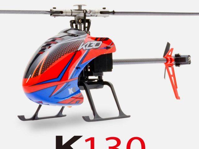 ハイテックから最新小型電動ヘリ「K130」が登場!