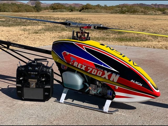 ALIGNがAlan Szabo Jr.氏による電動ヘリ「T-REX700XN」の3Dフライト動画を公開!
