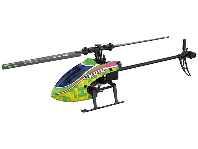 ハイテックが小型電動ヘリ「GRIFFIN(グリフォン)」を発表!